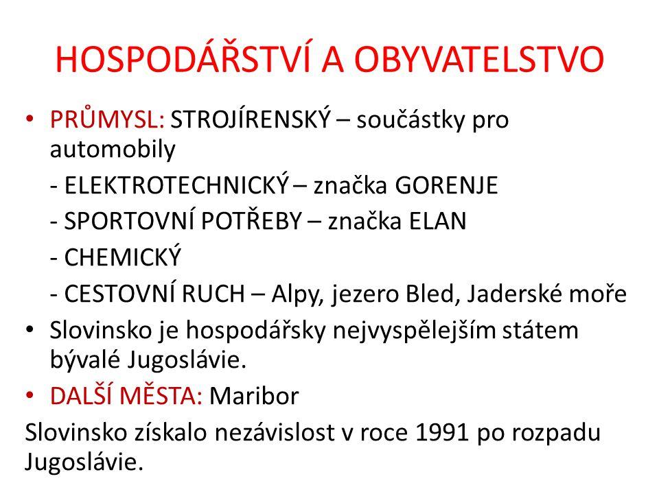 OPAKOVÁNÍ – správné řešení V roce 1991 vzniklo rozpadem Jugoslávie Slovinsko a Chorvatsko.