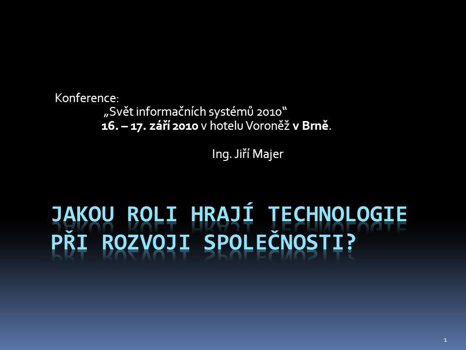 """Konference: """"Svět informačních systémů 2010 16. – 17."""