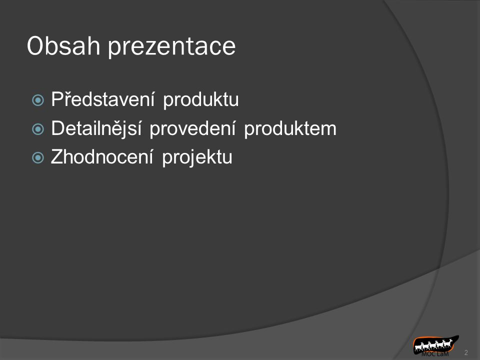 Projektový management pro inženýrství Publikace zabývající se řízením projektů Přeložena z angličtiny do češtiny Původními autory jsou Charles Lessard Joseph Lessard Výsledný dokument má 83 stran v 16-ti kapitolách 3
