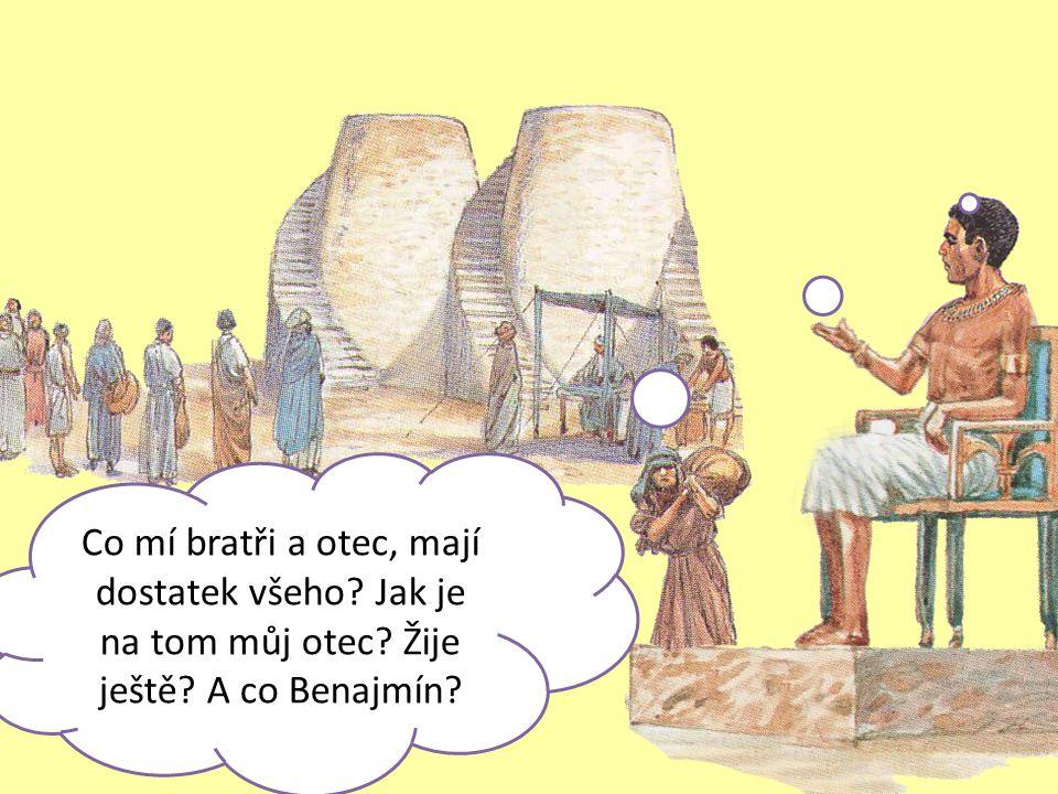 ÚKOL: Josef uměním vykládat sny pomáhal egypťanům.