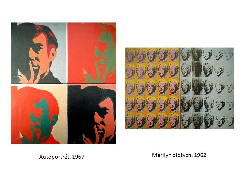 Autoportrét, 1967 Marilyn diptych, 1962