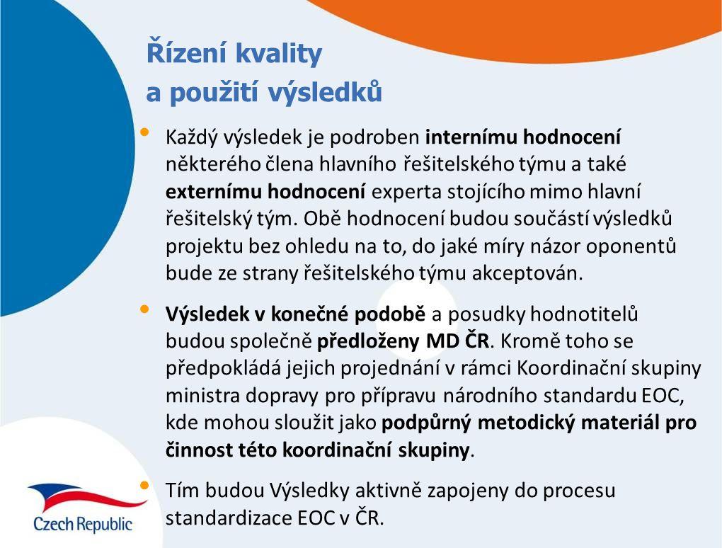 Akronymy výsledků 1 – 12 projektu 1Precedentní principy 2Rozdělení rolí 3Min.