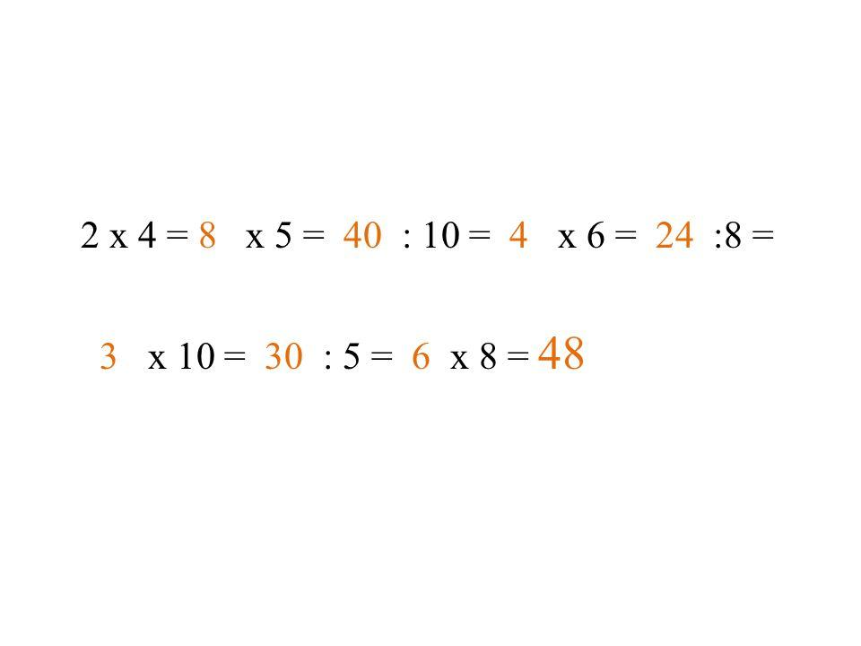 Číselné čtverce 3721 6530 5945 843 2 Klíč: 3 x 7 = 21, 6 x 5 = 30, 5 x 9 = 45, 8 x 4 = 32