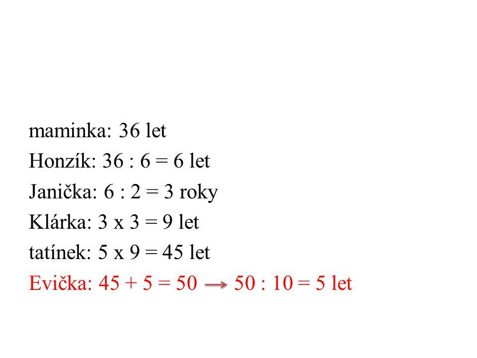 K příkladům přiřaďte výsledek 7 x 7 = 16 6 x 6 = 48 9 x 3 = 35 6 x 8 = 49 6 x 1 = 45 9 x 0 = 0 7 x 5 = 30 8 x 4 = 27 5 x 9 = 32 3 x 10 = 6 8 x 2 = 36