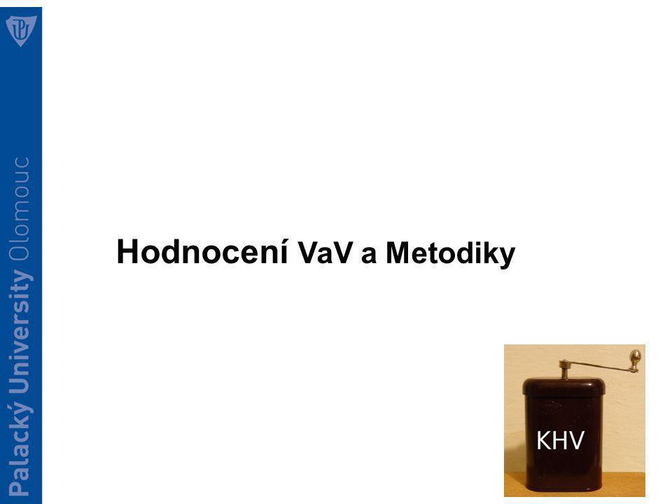 Hodnocení VaV a Metodiky