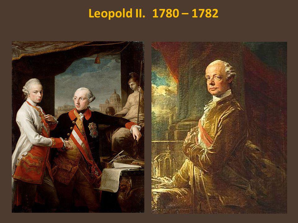 Leopold II. 1780 – 1782