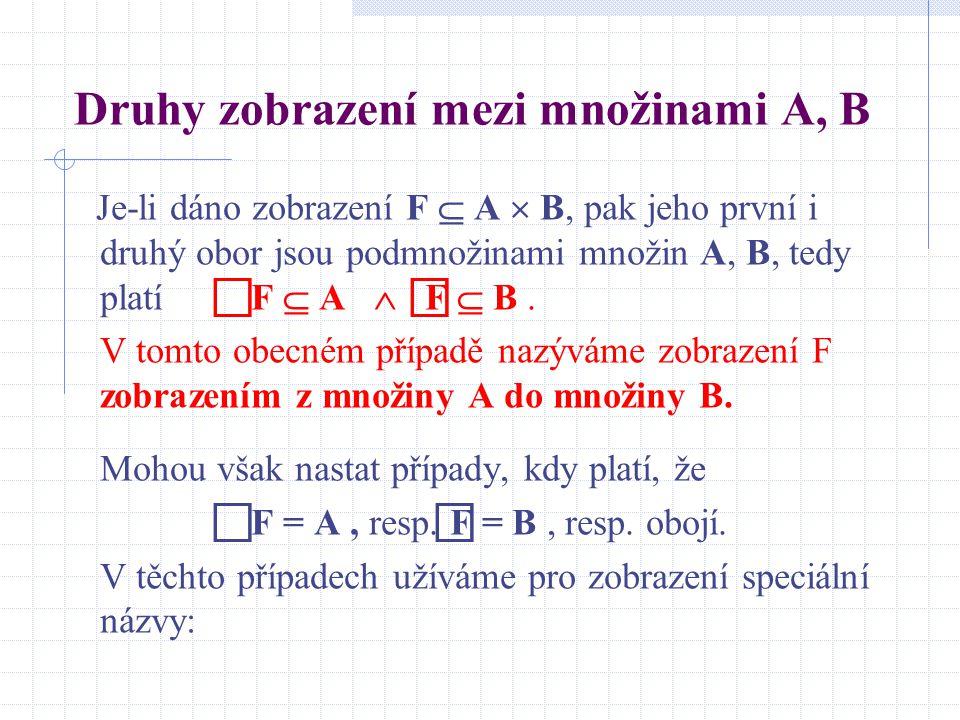 Definice distributivnosti binárních operací Nechť jsou dány dvě binární operace  a  v množině M.