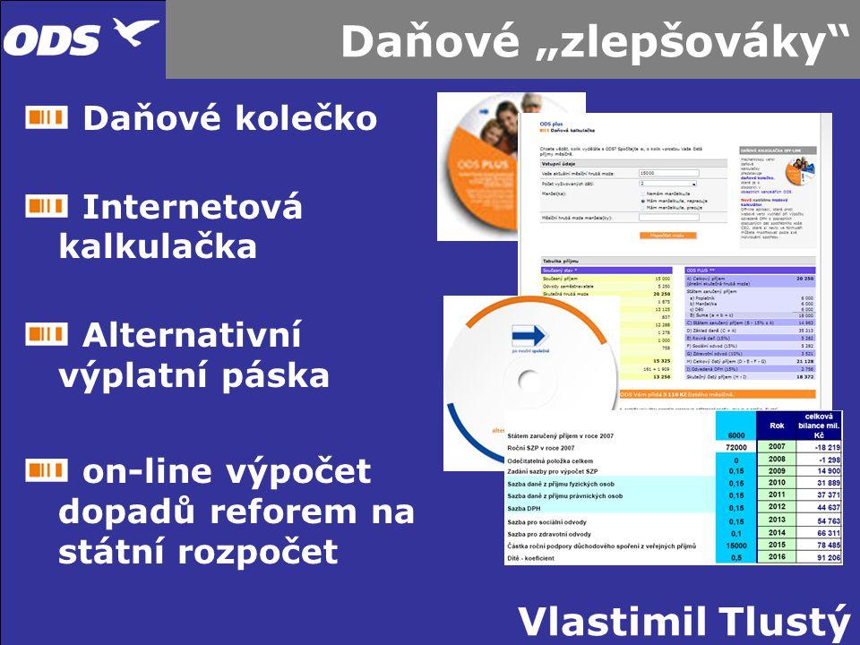 Vlastimil Tlustý Další příspěvky do kampaně Roadshow po celé ČR