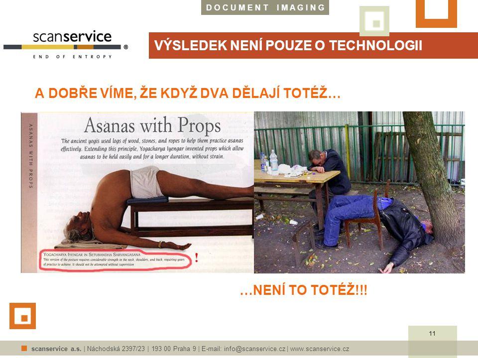 D O C U M E N T I M A G I N G scanservice a.s. | Náchodská 2397/23 | 193 00 Praha 9 | E-mail: info@scanservice.cz | www.scanservice.cz VÝSLEDEK NENÍ P