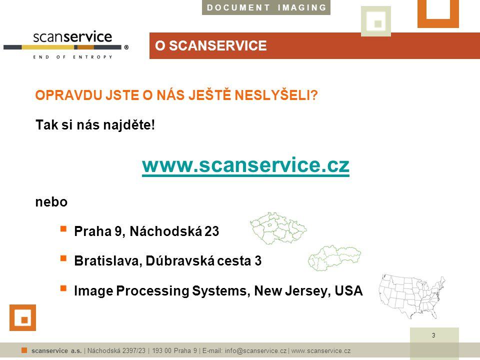 D O C U M E N T I M A G I N G scanservice a.s.