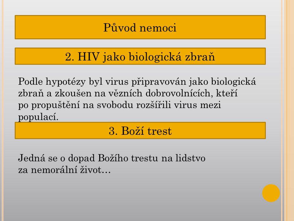Původ nemoci 2.