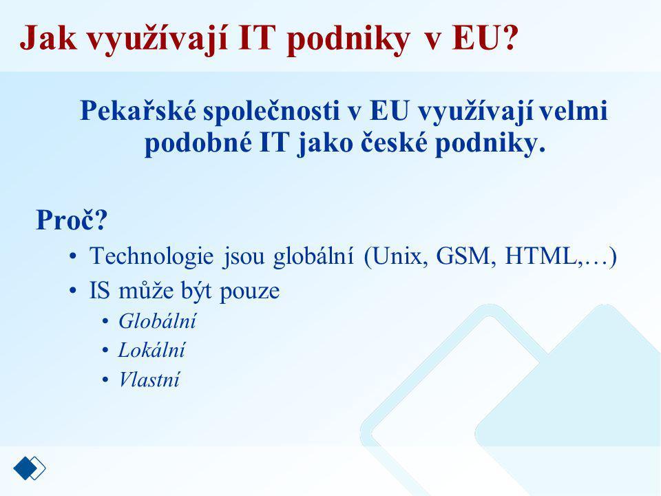 Jak využívají IT podniky v EU.