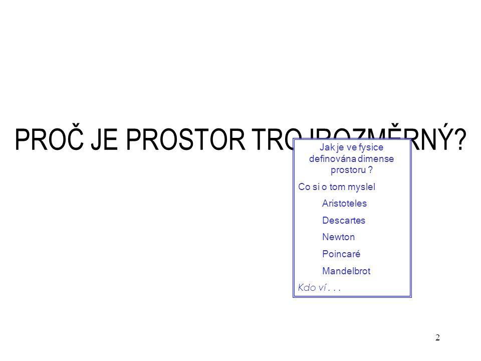 63 Schrödingerova teorie vodíku v R n V souřadnicové representaci Měřítková transformace – T homog.