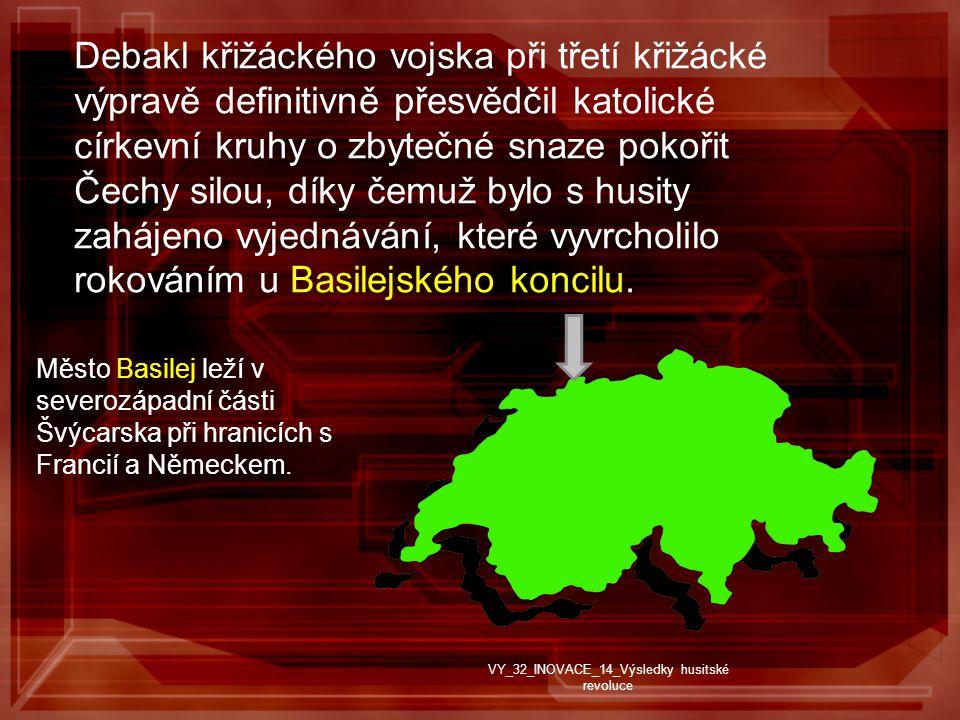 Debakl křižáckého vojska při třetí křižácké výpravě definitivně přesvědčil katolické církevní kruhy o zbytečné snaze pokořit Čechy silou, díky čemuž bylo s husity zahájeno vyjednávání, které vyvrcholilo rokováním u Basilejského koncilu.