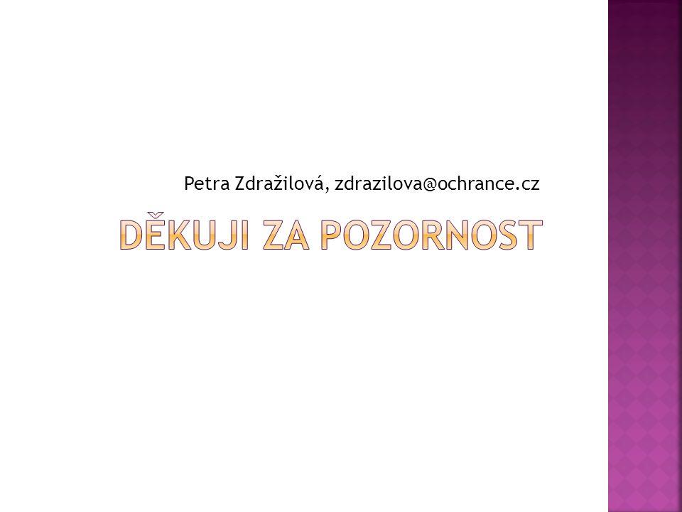 Petra Zdražilová, zdrazilova@ochrance.cz