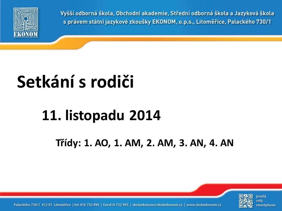VÝSLEDKY MATURITNÍCH ZKOUŠEK VE ŠKOLNÍM ROCE 2013/2014  třída 4.