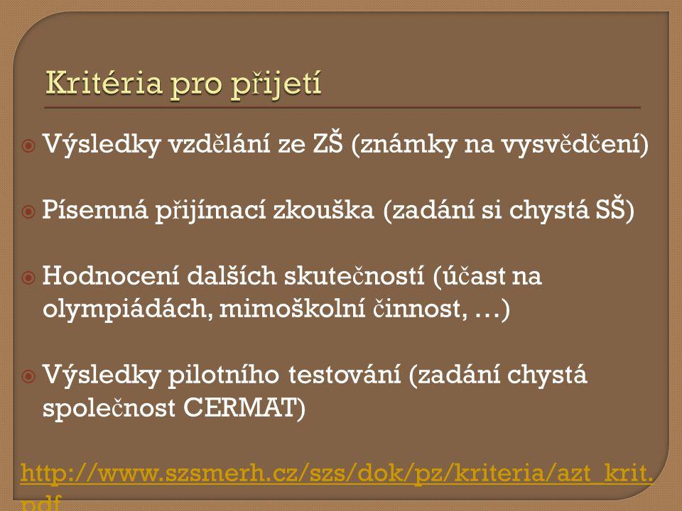  http://www.jmskoly.cz/ http://www.jmskoly.cz/  PILOT seznam p ř ihlášených škol v č etn ě obor ů JmK.xlsx PILOT seznam p ř ihlášených škol v č etn ě obor ů JmK.xlsx  Test z č eského jazyka a z matematiky  http://www.msmt.cz/vzdelavani/zakladni- vzdelavani/standardy-pro-zakladni-vzdelavani- 1 http://www.msmt.cz/vzdelavani/zakladni- vzdelavani/standardy-pro-zakladni-vzdelavani- 1  Vzory test ů budou zve ř ejn ě ny 31.1.