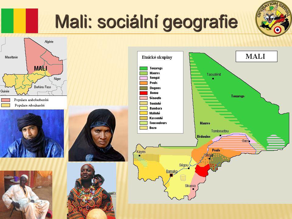 Mali: sociální geografie