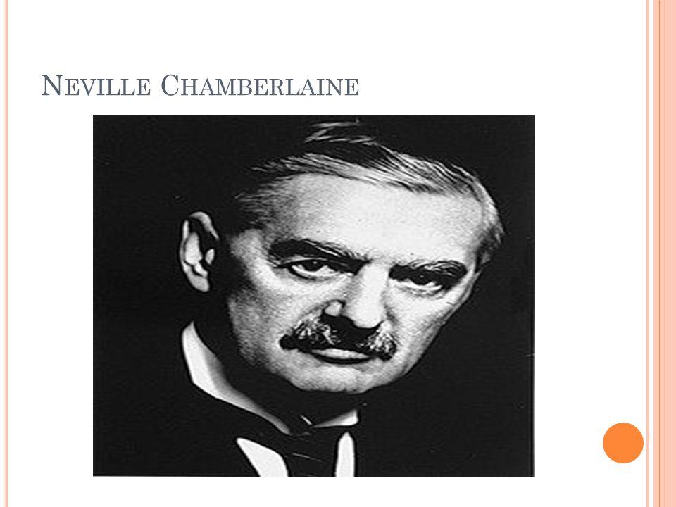 N EVILLE C HAMBERLAINE