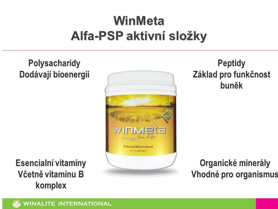 WinMeta Alfa-PSP aktivní složky