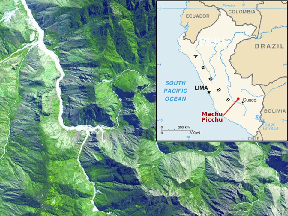 5. Machu Picchu Posvátná horská pevnost Inků v Andách. Peru