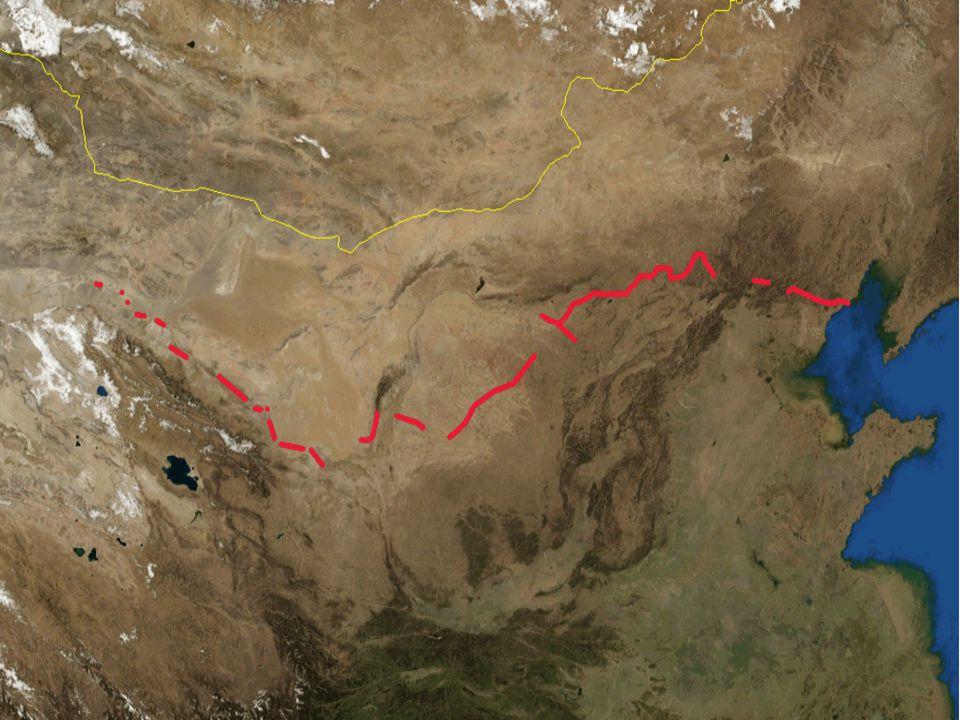1. Velká čínská zeď dlouhá přes 6.800 km