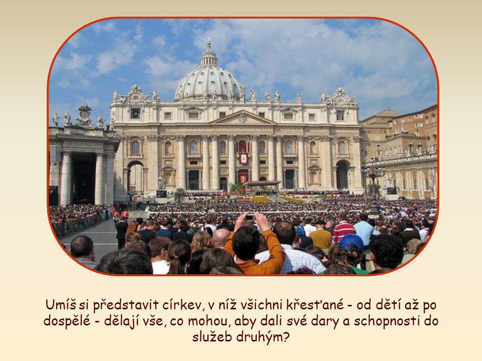 """""""Navzájem si pomáhejte podle míry Božích darů jako dobří správcové rozmanité Boží milosti. ."""