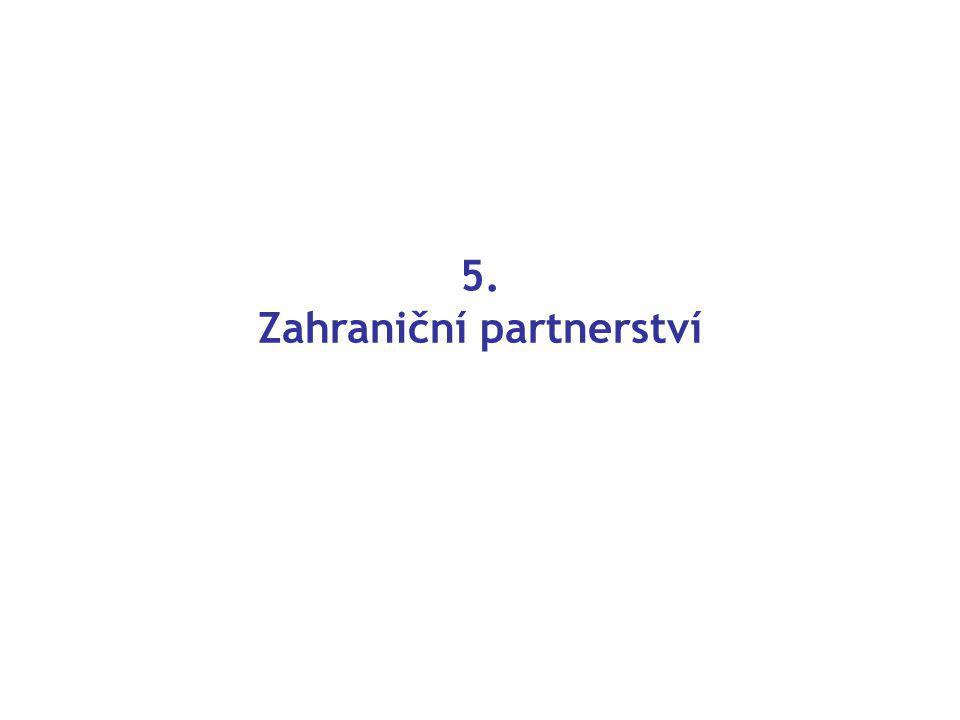 5. Zahraniční partnerství