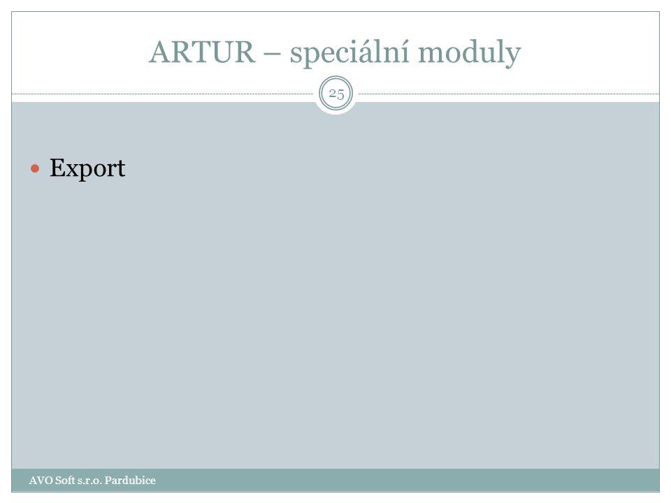 ARTUR – přenosový subsystém – Síla pole Programový modul Síla pole je určen pro servisní pracovníky provádějící montáž a údržbu radiotechnických zaříz