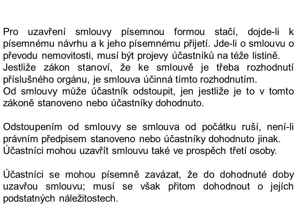 Obchodní zákoník Zákon č.513/1991 Sb.