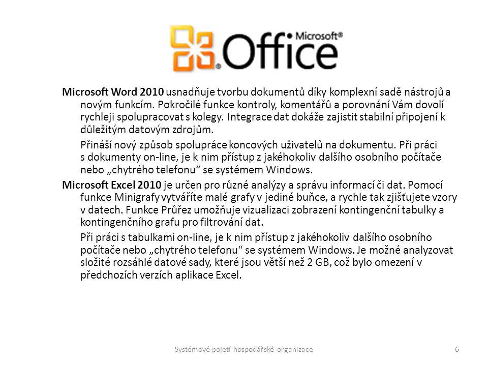 Microsoft Word 2010 usnadňuje tvorbu dokumentů díky komplexní sadě nástrojů a novým funkcím. Pokročilé funkce kontroly, komentářů a porovnání Vám dovo