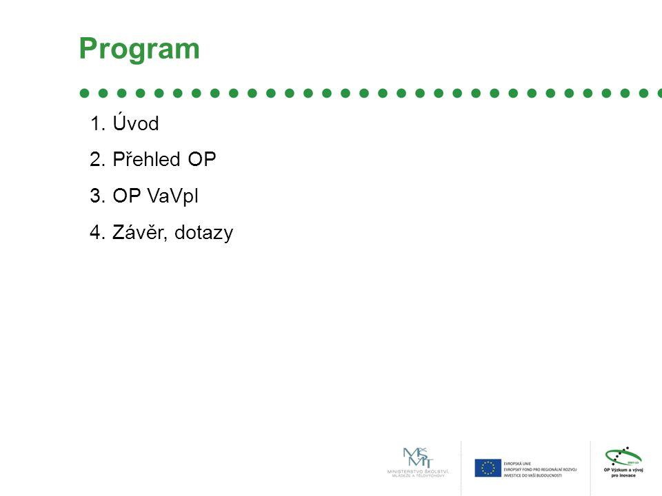 Kritéria využití výsledků, aplikační potenciál finanční udržitelnost synergie s OPVK nebo OPPI stavební aspekty kvalita výzkumného programu kvalita výzkumného týmu uživatelé management centra rozpočet a financování součást IPRM