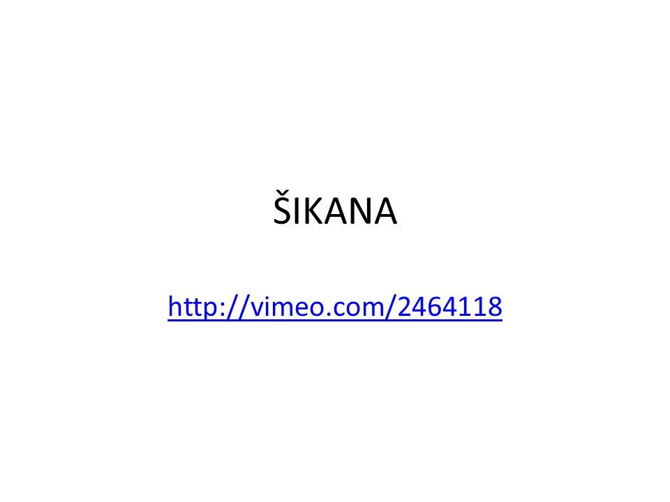 ŠIKANA http://vimeo.com/2464118