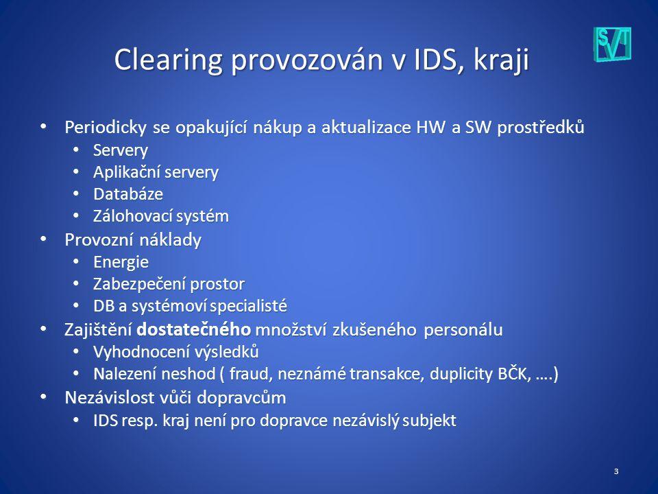 4 Clearing jako cloudová služba Software as a Service (SaaS) Garantovaná dostupnost Garantovaná dostupnost Vše je spravováno společností poskytující službu (včetně updatů) Vše je spravováno společností poskytující službu (včetně updatů) Licence na libovolný počet uživatelů Licence na libovolný počet uživatelů Vždy aktuální verze softwaru Vždy aktuální verze softwaru Ušetření pořizovacích, provozních a mzdových nákladů Ušetření pořizovacích, provozních a mzdových nákladů Snadná fakturace využívaných služeb Snadná fakturace využívaných služeb Např.