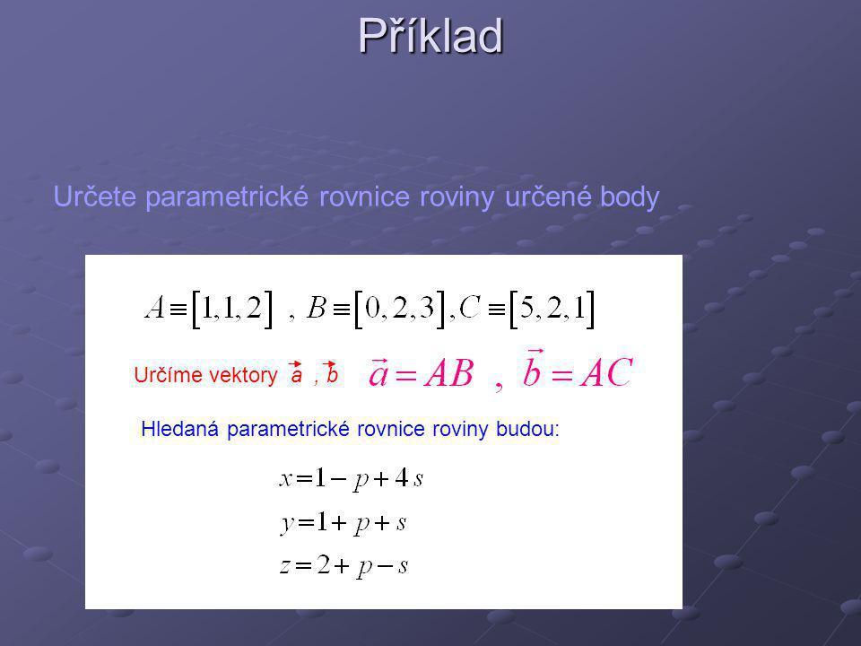 Polohový vektor (radiusvektor) Polohu libovolného bodu můžeme určit vektorem, jehož počáteční bod leží v počátku soustavy souřadnic a koncový bod v uvažovaném bodě.