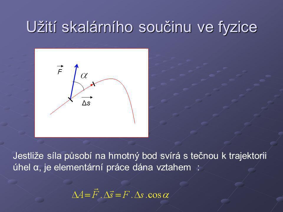 Užití v geometrii P Xn O P je pata kolmice spuštěné z počátku na rovinu X je libovolný bod roviny OP= r OP=d´ n je normála k rovině Pro všechny body roviny je Rovnice roviny