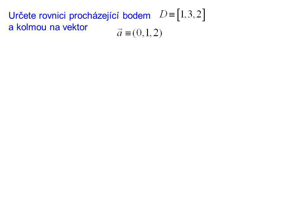 Vektorový součin dvou vektorů Definice Vektorovým součinem nazýváme vektor těchto vlastností: 1.