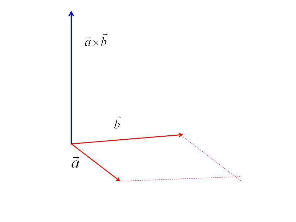 Vlastnosti vektorového součinu 1.Jsou-li vektory lineárně závislé(rovnoběžné), je 2.