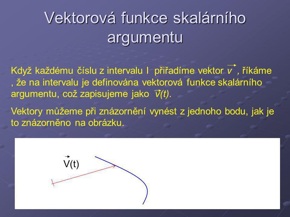 Souřadnice takového vektoru jsou obyčejnými reálmými funkcemi téže proměnné.