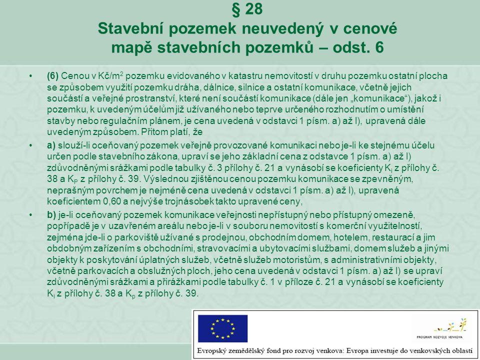 § 9 odst.3 zákona o oceňování majetku č. 151/1997 Sb.