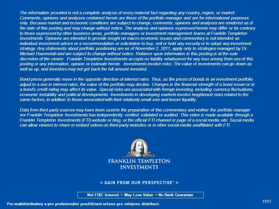 11/11 Pro makléře/dealery a pro profesionální použití/není určeno pro veřejnou distribuci.