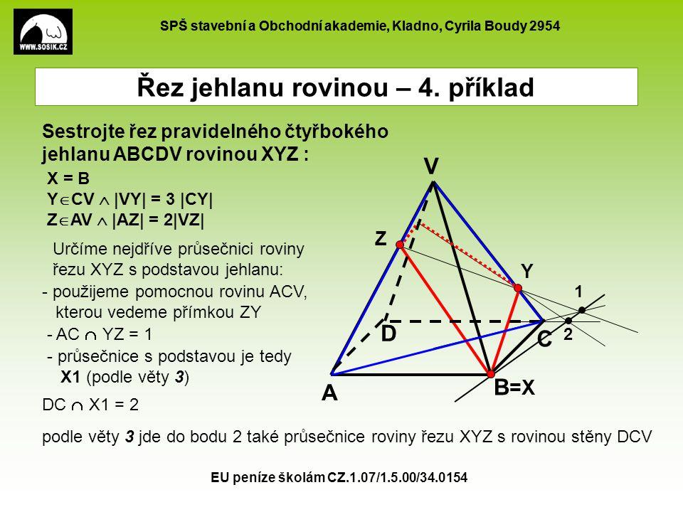 SPŠ stavební a Obchodní akademie, Kladno, Cyrila Boudy 2954 EU peníze školám CZ.1.07/1.5.00/34.0154 Z A B C D V =X Y X = B Y  CV  |VY| = 3 |CY| Z 
