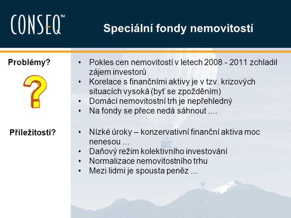 Fondy kvalifikovaných investorů Zvláštní skupina fondů určená tzv.