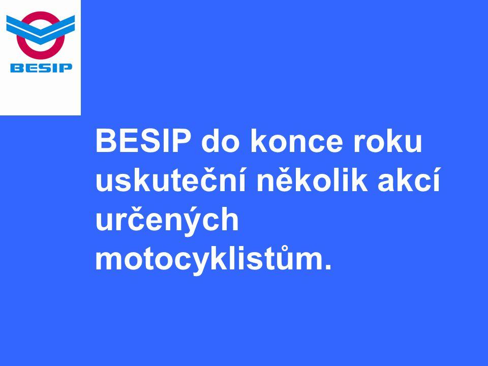BESIP do konce roku uskuteční několik akcí určených motocyklistům.