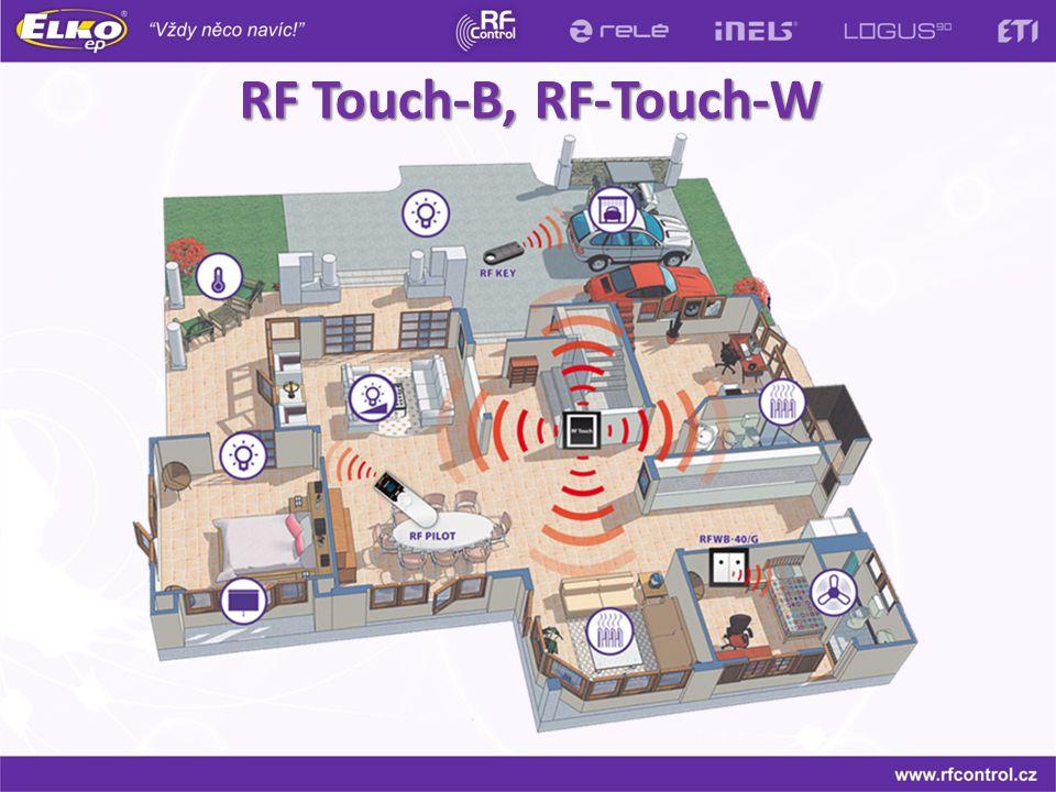 RF Touch-B, RF-Touch-W