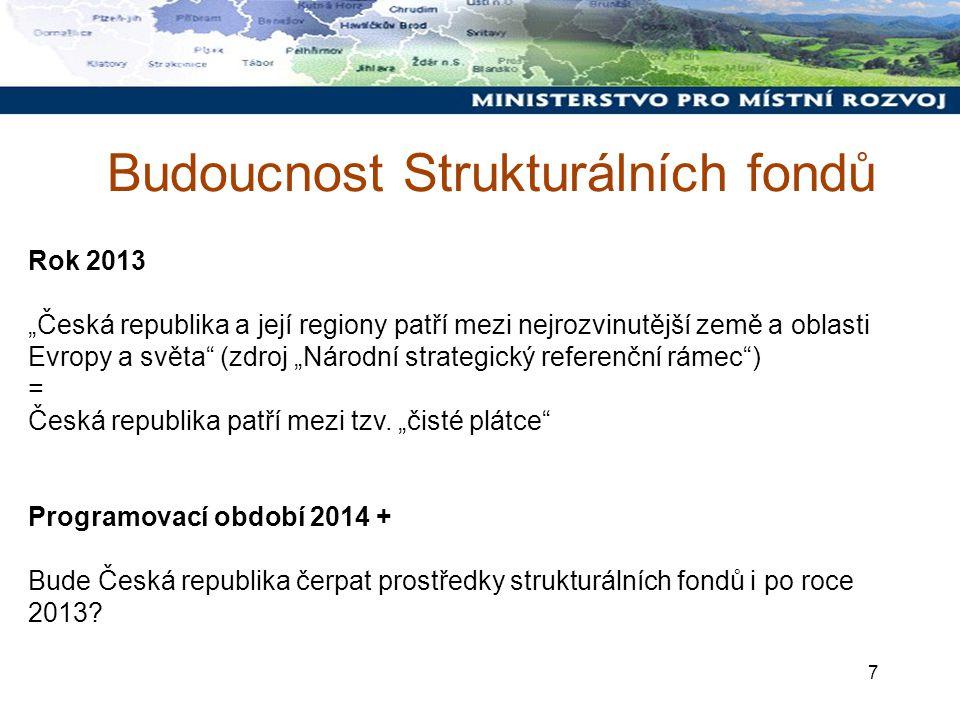 8 2. Národní strategický referenční rámec Schválen 26. července 2007