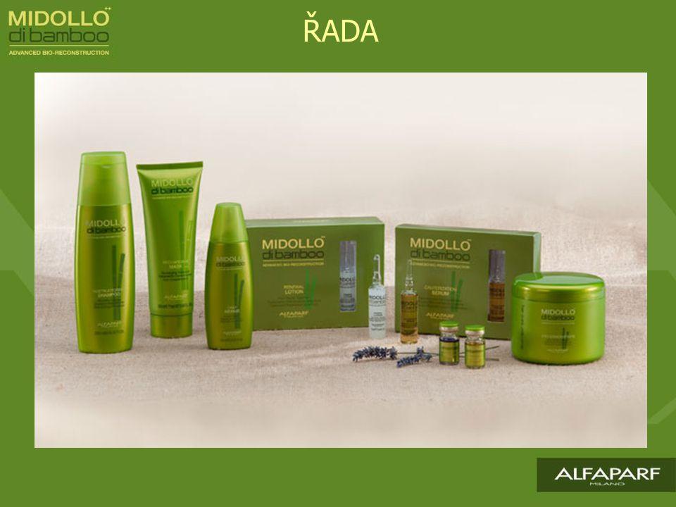 RESTRUCTURING SHAMPOO Účinný šampon bohatý na remineralizující složky, které napomáhají procesu obnovy vlasového vlákna.