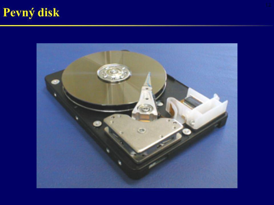 12 Pevný disk