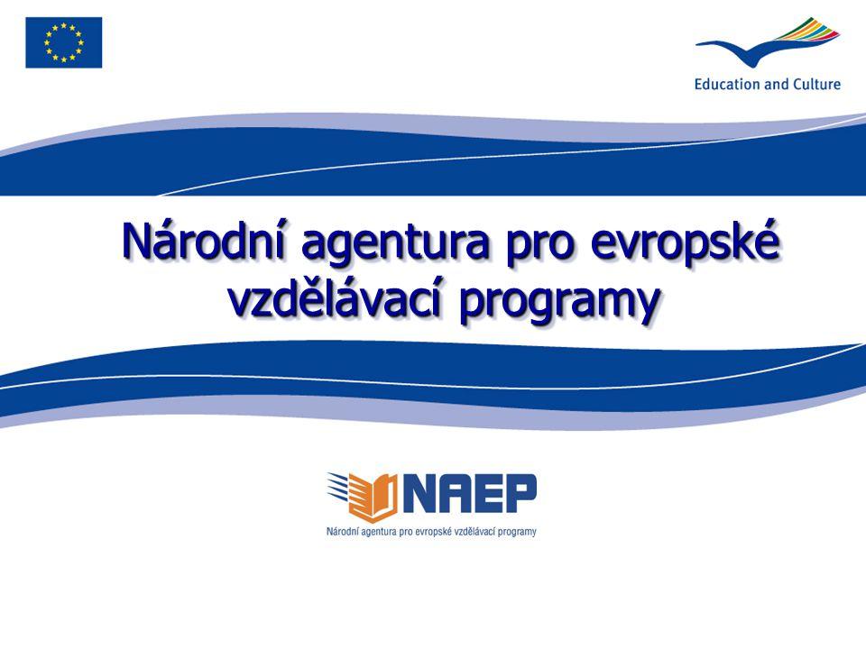 Národní agentura pro evropské vzdělávací programy Národní agentura pro evropské vzdělávací programy
