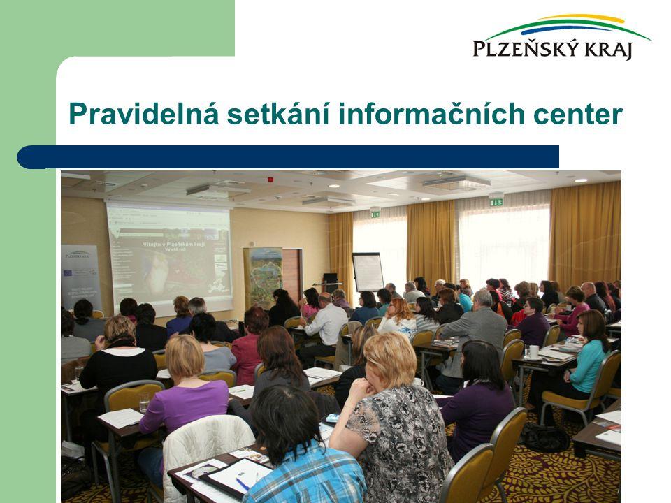 Pravidelná setkání informačních center